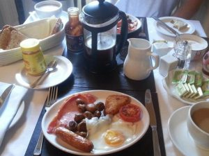 award winning breakfast at carlingford house