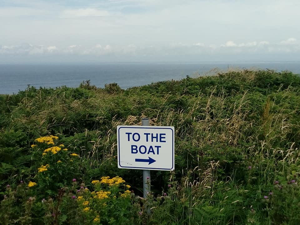 No fear of getting lost on the Saltees