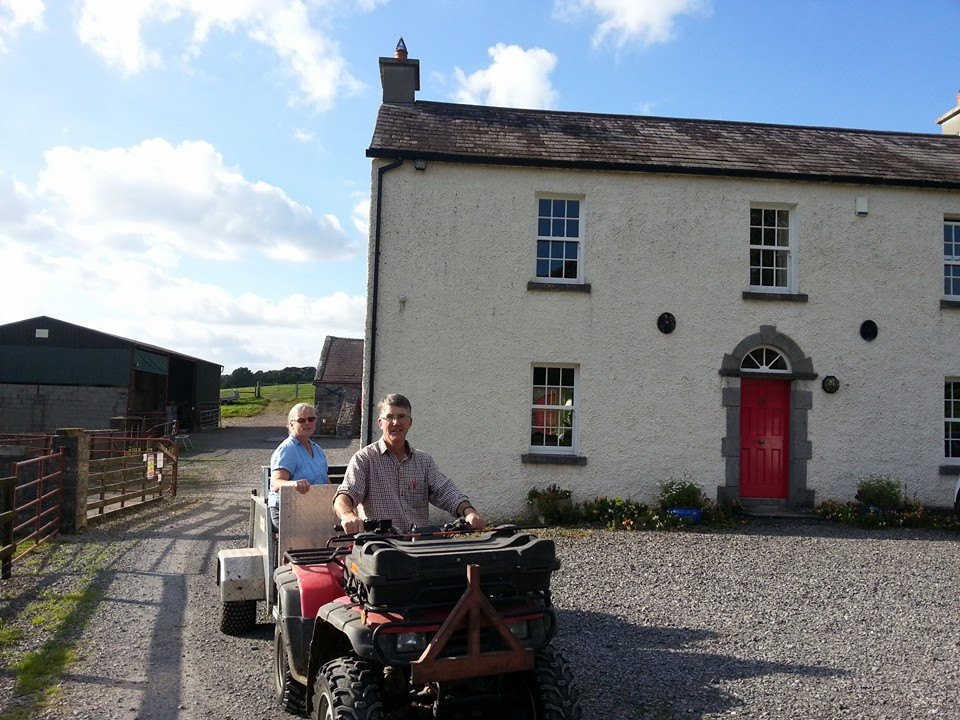 Helen and Christopher Kelly of Lough Bishop House