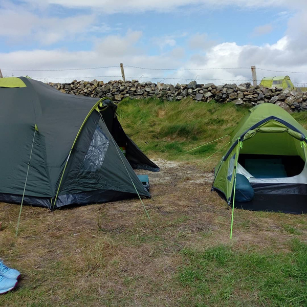 Camping at Clifden Eco Beach Campsite