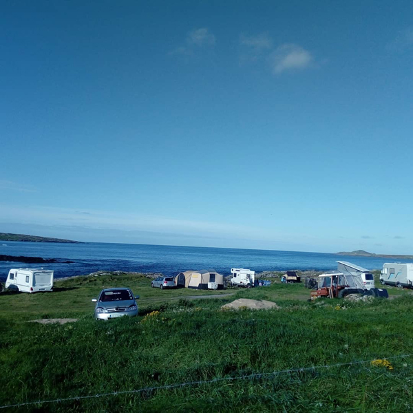 Clifden Eco Beach Campsite Galway