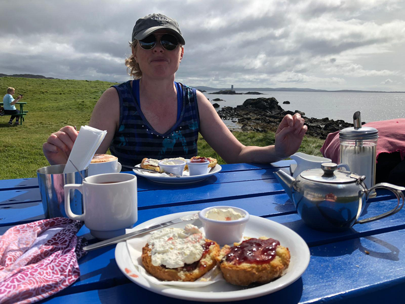 Tea and Scones on Inisbofin